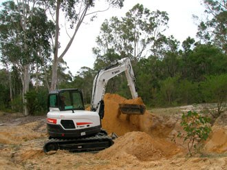 Bobcat introduces new E85 mini tail swing compact excavator