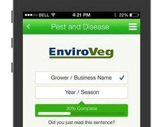 New sustainability app for vegetable farmers