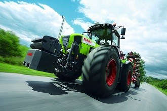 Claas to launch new Xerion tractors at Agritechnica 2013