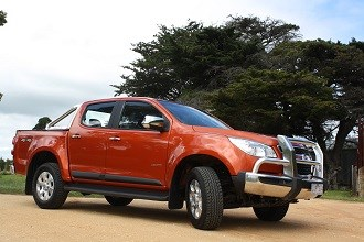 Tested: Holden Colorado LTZ ute