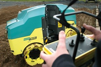 Conplant adds Rammax 1575 trench rollers to fleet
