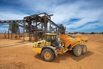 VIC supplier receive first Bell E Series dump truck