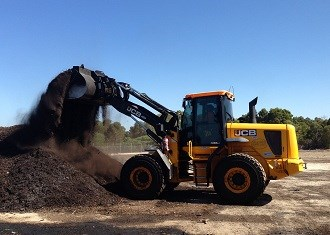 City of Bunbury reclaims waste with JCB