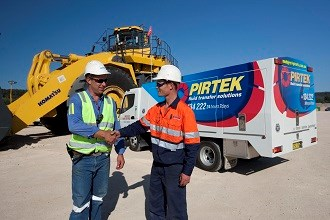Komatsu and Pirtek expand hose supply agreement