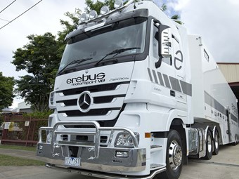 Mercedes-Benz Trucks to team up with Erebus Motorsport
