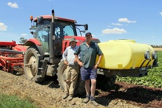 Case IH drives NSW farmers
