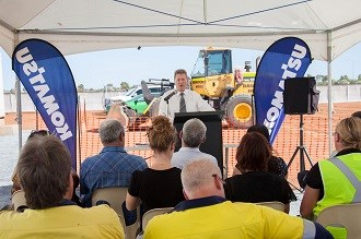 Komatsu commence work on new Pilbara facility
