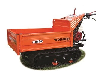 Makinex launches new entry-level Cormidi tracked dumper