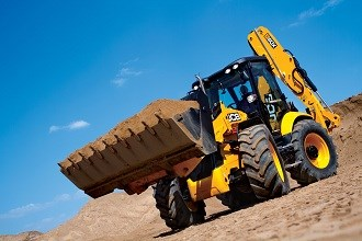 JCB unveils largest backhoe loader