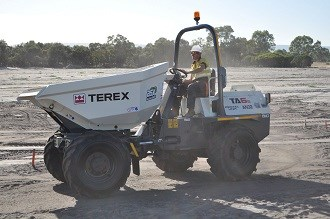 Concrete contractor counts on Terex