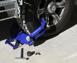 Win a Samurai Wheel Clamp