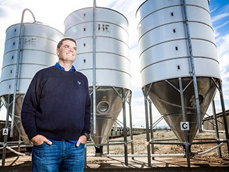 Anaerobic digestion on the menu at Moana Farm