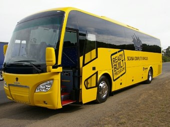 Scania A30 school bus