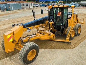 Caterpillar M-Series motor graders