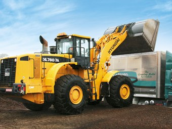 Hyundai HL780-7A wheel loader