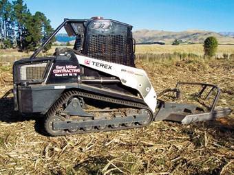 Terex PT100 forestry loader