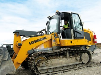 Liebherr LR 634 tracked loader