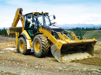 Caterpillar 434E backhoe loader