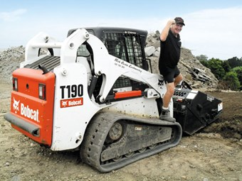 T190 Bobcat skid steer loader