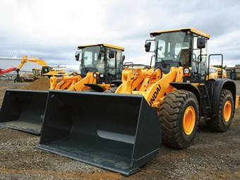 Hyundai HL760-9 and Hyundai HL770-9 loaders