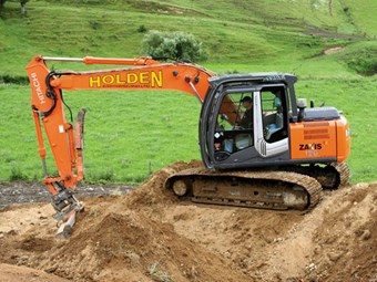 Review: Hitachi Zaxis ZX-120 excavator