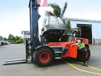Linde H140D Forklift review
