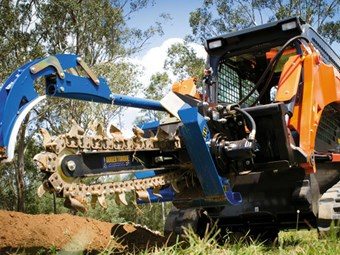 Couplers & Attachments: Auger Torque Trenchers