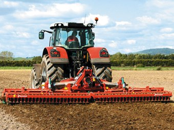 Kverneland 6m Folding Power Harrow
