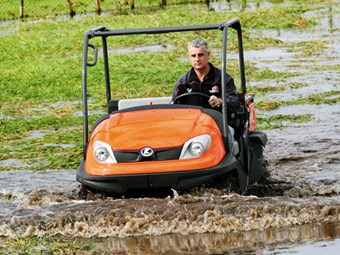 Kubota RTV500 ride-on