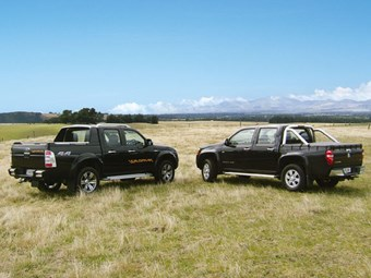 Ford vs Holden 4WD Utes