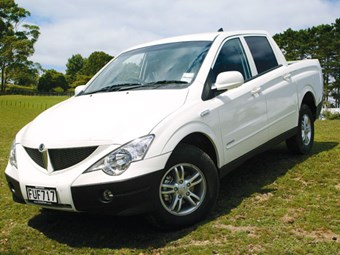 Ssangyong Actyon Ute