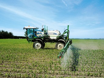 Large-scale spraying solution