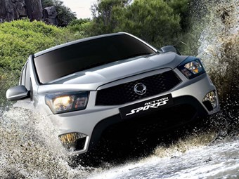 2012 SsangYong Actyon Sports Ute