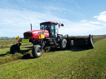 MacDon M205 Windrower