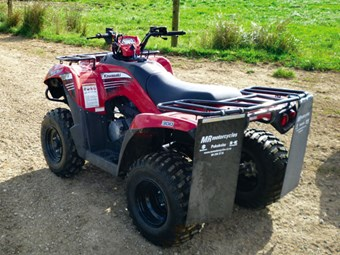 Review: Kawasaki Brute Force 300 quad