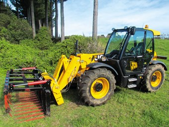 JCB 531-70 Agri Super Test