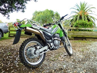 Kawasaki Stockman 250 review