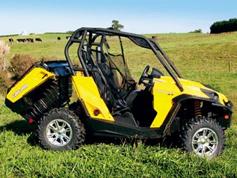 Review: Can-Am Commander 1000XT SxS