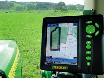 Pasture Care: TracMap 465 GPS