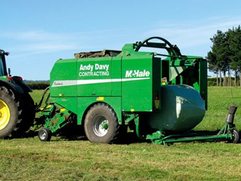 McHale Fusion 2 baler wrapper review
