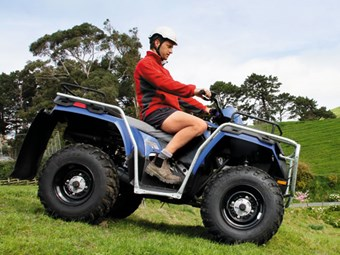 Polaris Sportsman 400 H.O. quad bike review