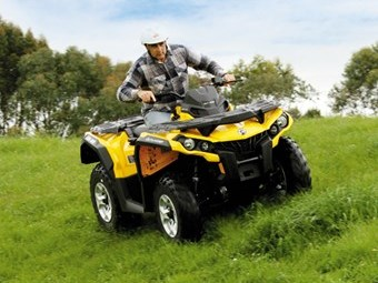 Review: Cam-Am Outlander 500 DPS ATV