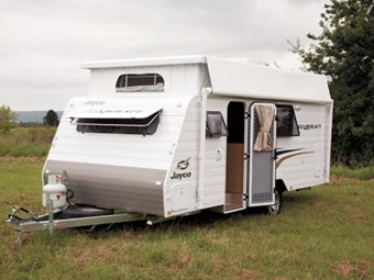 TESTED: JAYCO STARCRAFT 16.67.SC POP-TOP