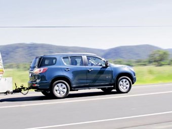 TOW TEST: HOLDEN COLORADO 7