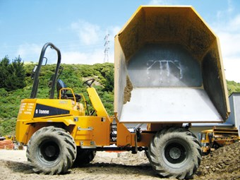 Thwaites six-tonne power swivel dumper