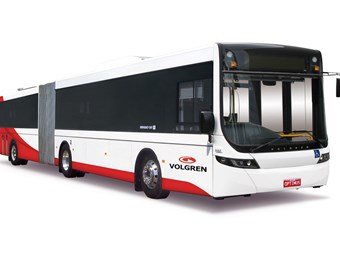 Volgren articulated buses for Japan