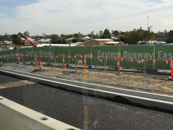 Eastern Busway ahead of schedule