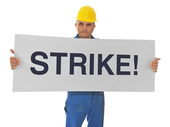 TAG drivers on strike
