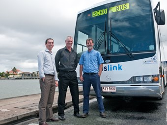 Buslink gets on 'green' bus with Mercedes-Benz