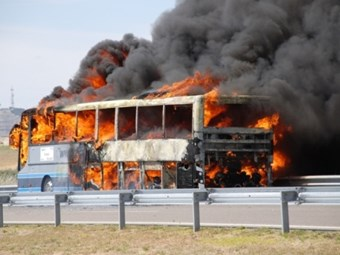 Call for bus fire standard